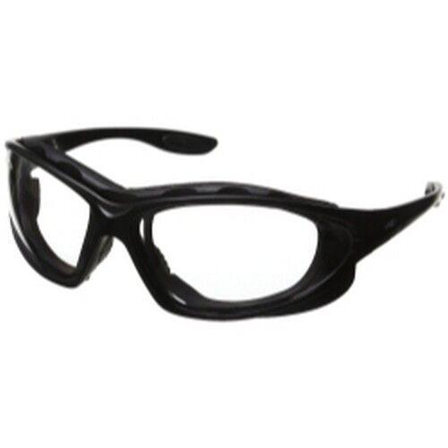 Uvex S0600 Seismic Schwarzen Rahmen Transparente Linse Schutzbrille