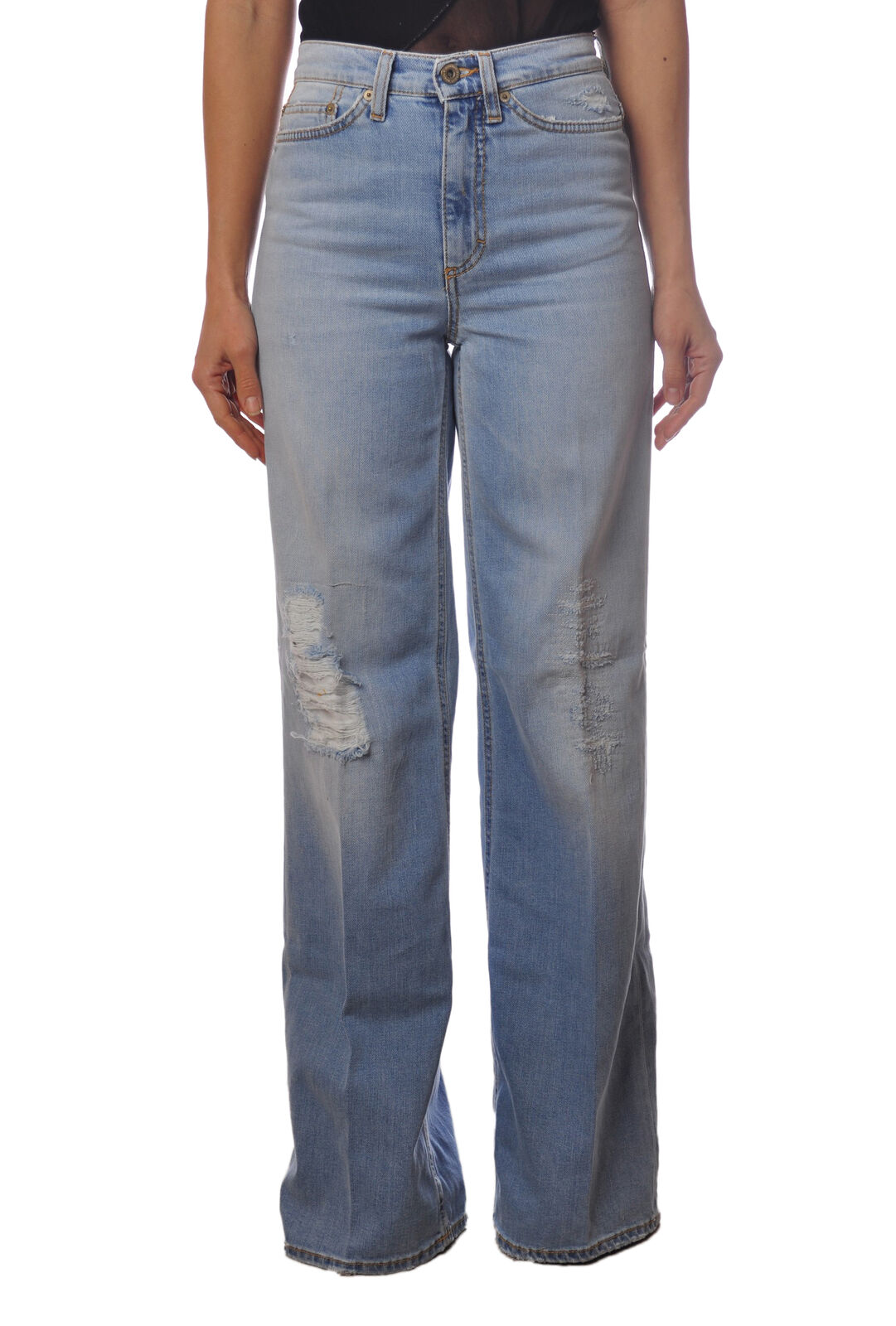 Dondup - Jeans-Pants - Woman - Denim - 4984726E183821