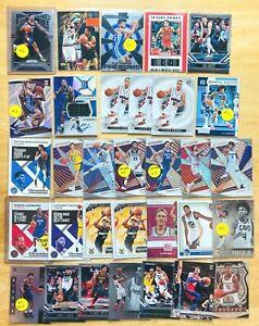 25-NBA-Basketball-Card-Lot-Jersey-AUTO-Prizm-RC-Insert-SP-Luka-Doncic