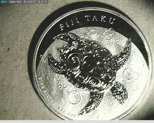2012 Fiji Taku Hawkvill Turtle, 1 oz High Grade Silver (US-3503)