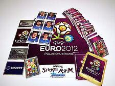 PANINI EM 12 Euro 2012 - Komplettset (Intern.) + Deluxe Album + 6 Updates