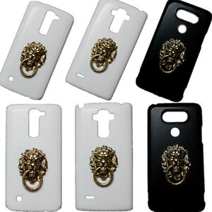 Fashion-Bronze-Lion-Head-Ring-Stand-Pattern-Back-Cover-Case-for-Various-Phones