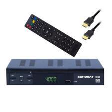 Echosat 20700 HD FTA Digital SAT Receiver DVB-S2 Scart USB PVR HDTV + HDMI-Kabel