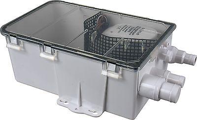 SEAFLO 12V 750GPH SHOWER SUMP PUMP AUTO BILGE DRAIN BOX Boat RV 4 Year Warranty!