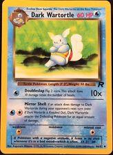 Pokemon Dark Wartortle 46/82 Team Rocket UnCommon Card Mint