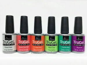 EZFlow TruGel - Gel Polish LED UV - NEON DAZE 2015- 0.5oz/14mL - Pick any Color