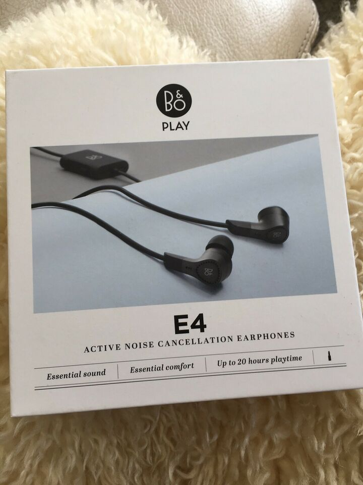 in-ear hovedtelefoner, B&O, E4