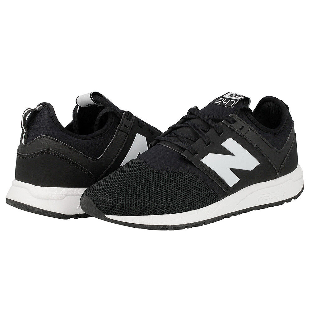 sale retailer 1c453 896b4 NEW BALANCE CLASSIC 247 247 247 TRAINING SNEAKER MEN SHOES BLACK MRL247BG  SIZE 10.5 NEW 620b93