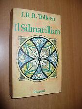 J.R.R. TOLKIEN IL SILMARILLION 1a EDIZIONE 1978 RUSCONI EDITORE ALLEGATA CARTINA