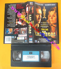 VHS film VIA DA LAS VEGAS Nicolas Cage Elisabeth Shue 1997 EAGLE (F140) no dvd