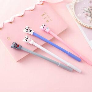 8pcs-Cute-Cartoon-Kawaii-Colorful-Cat-Gel-Ink-Ball-Pens-School-Gifts