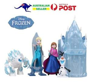 Frozen-Olaf-Elsa-Anna-Monster-Ice-Castle-Playset-Figures-Set-Lot-Cake-Toppers-14