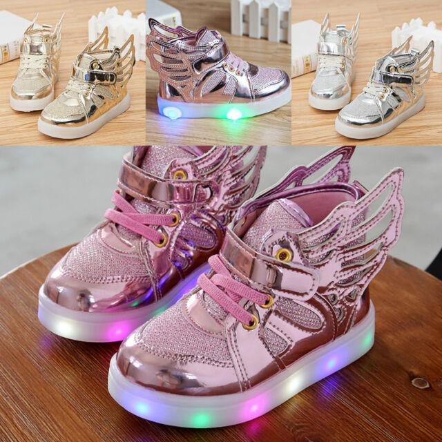 Scarpe bambina luci led new style light shoes kids kinder schuhe