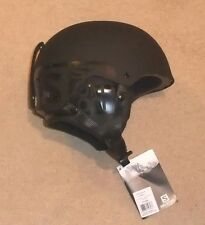 NEW SALOMON BRIGADE  GENTS SKI HELMET LARGE  58- 59 cm BLACK