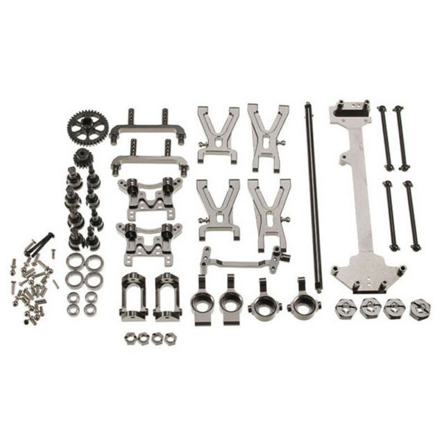 Upgrade Metal Parts Kit for Wltoys K929 A959 A969 A979 A959B A979B 1/18 Rc J4F5