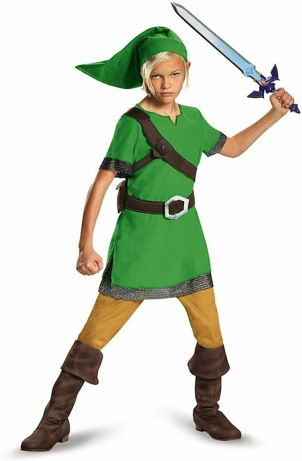 The Legend of Zelda Link Classic Child Costume   Disguise 85718