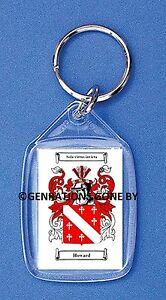 HOWARD (ENGLISH) COAT OF ARMS KEY RING