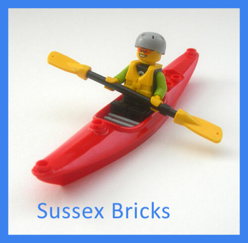 Kayak Canoe Boat Water Sports City Sea Canoeist Kayaker 29110 New Pieces Lego