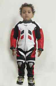 Motorcycle-Motorbike-Cycling-Kid-Kids-Children-Leather-Suit-Xmass-Christmass