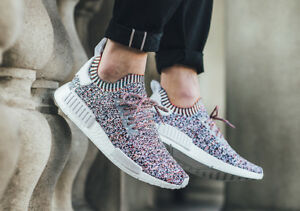 fca05f0b6fb62 Adidas NMD R1 PK Color Static Multicolor Size 12. BW1126 yeezy ultra ...