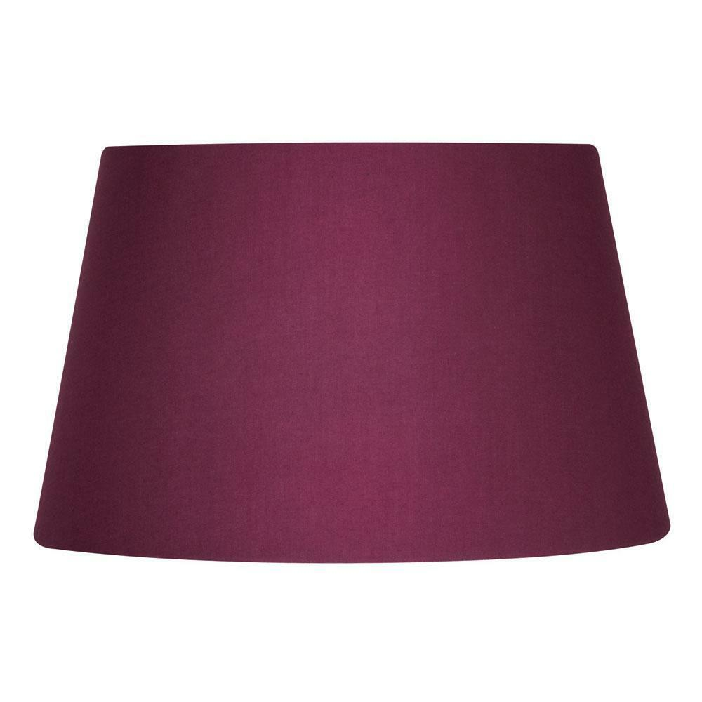8 10 12 14 Cotton Textured Fabric Empire Drum Shade Table Ceiling Lampshade For Sale Online
