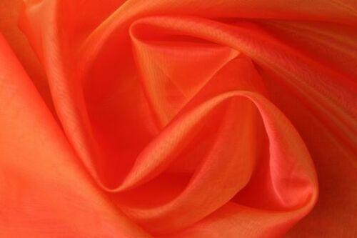 Organza de tela en 27 colores METERWARE decoración ropa karnval