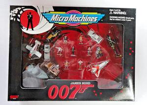007 James Bond Micro Machines Mib!