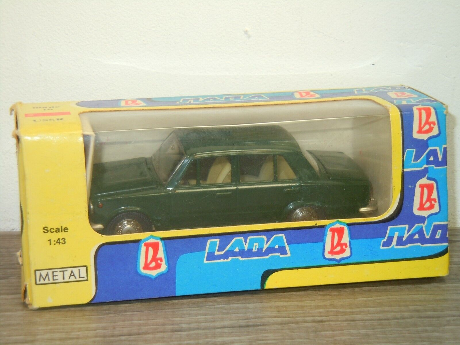 Lada 2101 Saloon - A9 CCCP made in USSR 1 43 in Box 39008