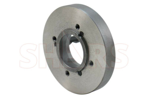 """Shars 8/"""" D1-4 Fully Machined Back Plate For 8/"""" 4 Jaw Independent Lathe Chuck New"""