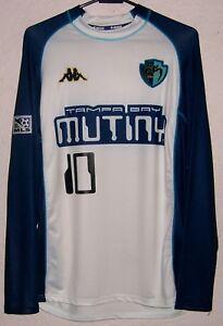 f44134c5708 MLS Tampa Bay Mutiny Kappa 2001 Carlos  Pibe  Valderrama Away L S ...