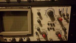 Heath-25Mhz-Oscilloscope-4226
