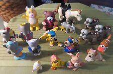 Vintage 1980's Happy Meal Toys Lot of 18 Figures CAREBEARS BABAAR DISNEY & MORE