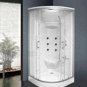 Komplett Duschkabine 90x90x215 Lorene Dusche Duschtempel Eco Ebay
