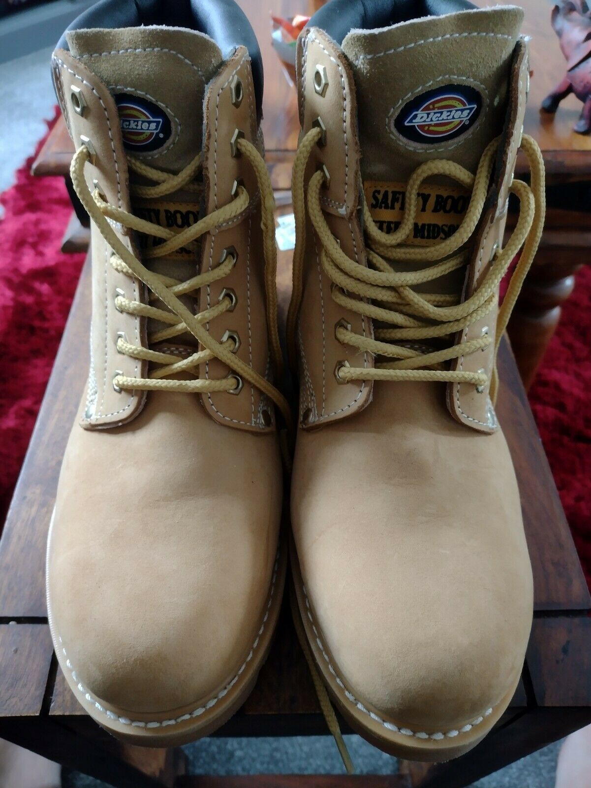 Dickies work boots size 10