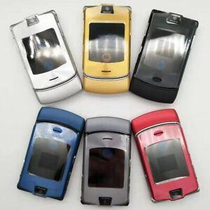 100-ORIGINAL-Motorola-RAZR-V3i-UNLOCKED-Mobile-Phone-GSM-Flip-Bluetooth-Phone