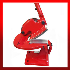 WNS Heavy Duty Throatless Shear Curved Blade Metal Cropper Cutter Guillotine 100