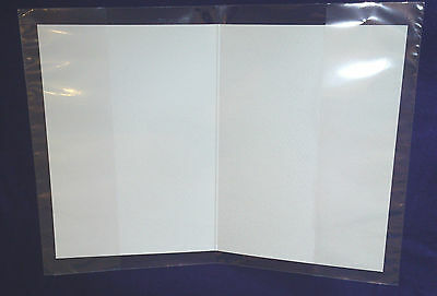 Clear JACKETS / SLEEVES Cello Card Bags - Cellophane Display Bag Sleeves