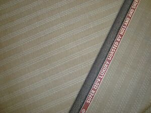 6-yd-HOLLAND-SHERRY-Wool-Fabric-Target-9-oz-Super-120s-Suiting-Taupe-222-034-BTP