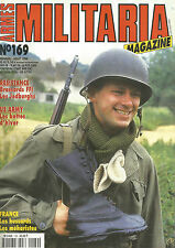 MILITARIA N°169 BRASSARDS FFI-LES JEDBURGHS / US ARMY LES BOTTES D'HIVER