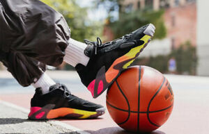 Details about Adidas Streetball Black Multicolor Pink Yellow EF1906 Men's 13 Basketball Shoes