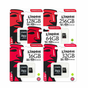 8GO-16GB-32GB-64GO-Kingston-80mb-S-Micro-Sd-SDHC-Uhs-I-Class10-Tf-Carte-Memoire