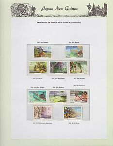 1973-1974-PNG-PAPUA-NEW-GUINEA-Panorama-continued-STAMP-SET-K-432