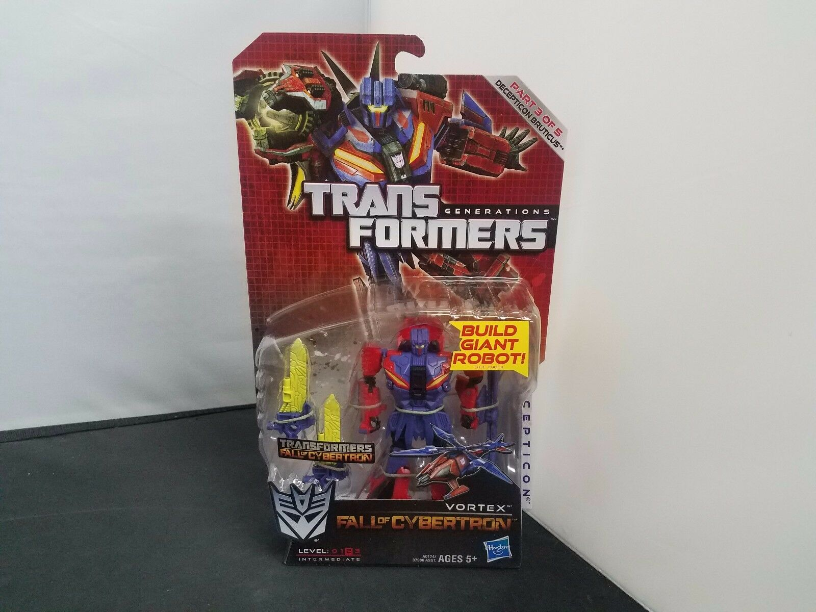 Transformers Generations Fall of Cybertron FOC Deluxe Class Vortex 2012 NOSC