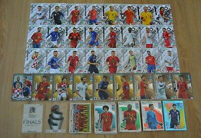 Panini Adrenalyn Xl Road To Euro 2020 Tarjetas Especiales Rare Fans Power Up Limited Ebay