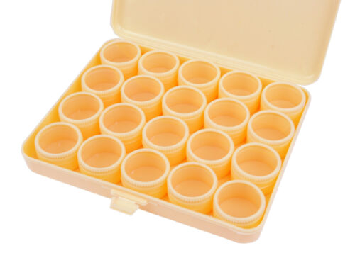 Paints Figures S7225 Proops Storage Box /& 20 Clear Lid Compartments Screws