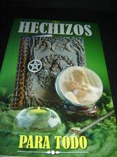 Libro HECHIZOS PARA TODO book magia salud dinero amor progreso felicidad