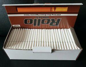 CLEARANCE-1600-MENTHOL-ULTRA-SLIMS-ROLLO-TUBE-Cigarrette-Tobbacco-Filter-ROLLO