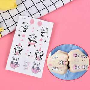 Cute-Panda-Animal-Temporary-Tattoo-Sticker-Waterproof-Small-Tatto-RemovableJBTTR