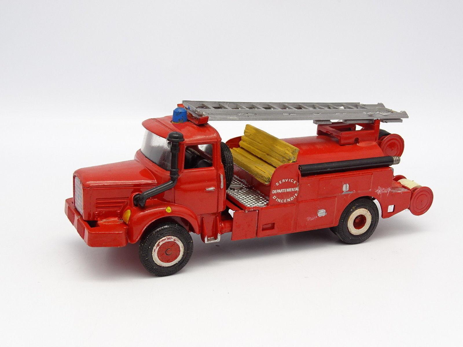 Corgi Modifié 1 43 - Berliet GLR 8 Pompiers Citerne