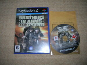 Brothers-in-Arms-ROAD-TO-HILL-30-Rare-Sony-Playstation-2-Game